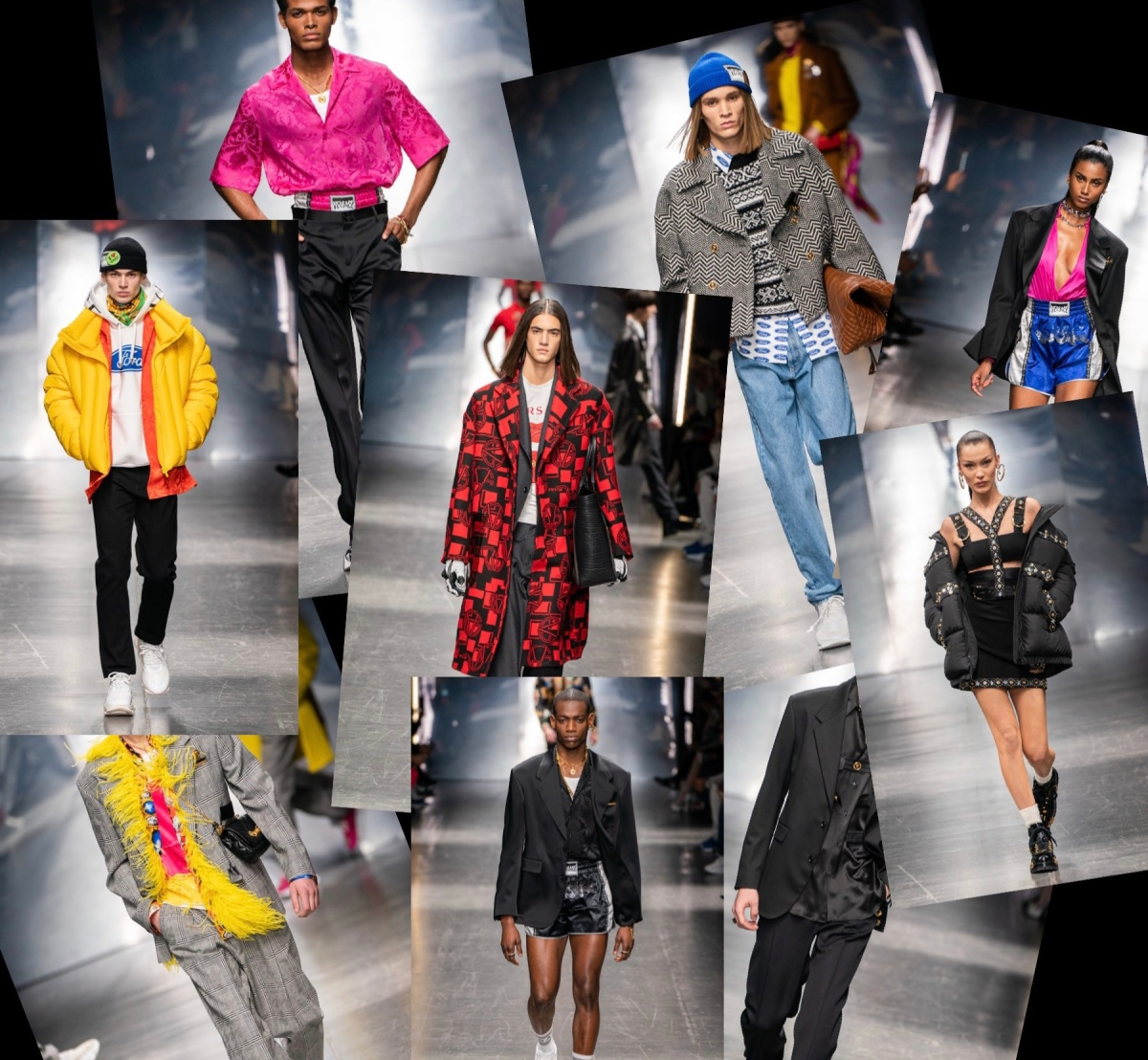 Trends I like from the Versace 2019 Fall Menswear – J's ...